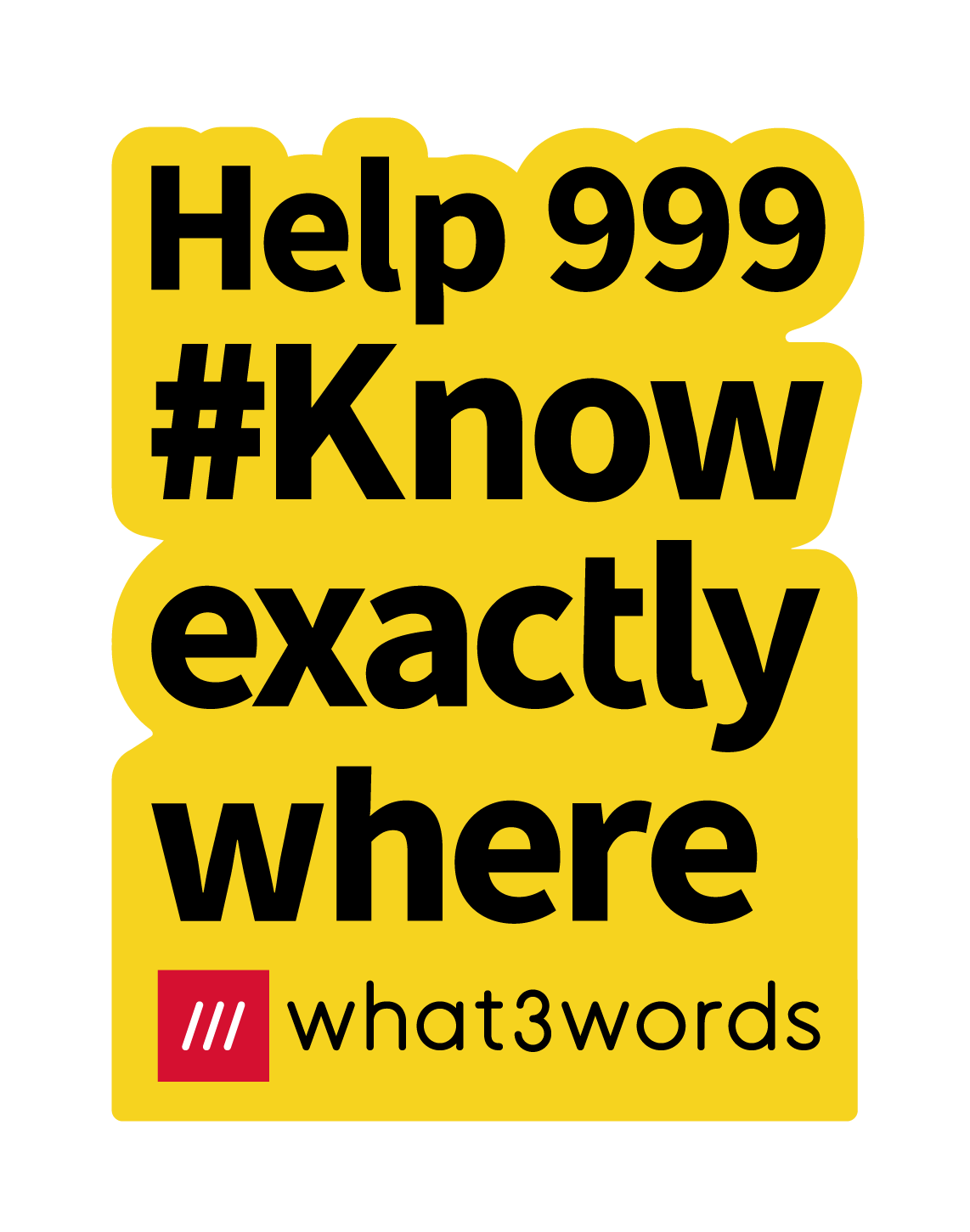 How what3words can help us #KnowExactlyWhere